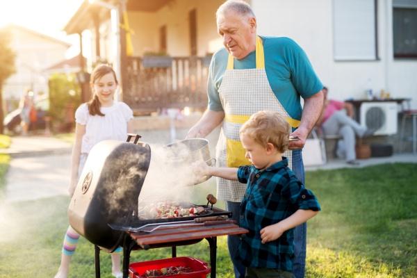 Lasting memories with grandchildren