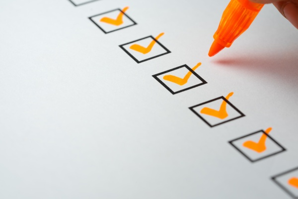 a checklist for reviewing your benefciaries